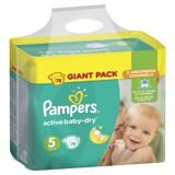 Pampers Подгузники Active Baby-Dry 11-18 кг, 5 размер, 78 шт.